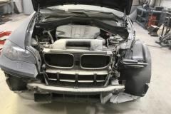 арматурные работы перед покраской BMW X6