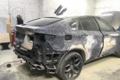снятие навесных деталей BMW X6