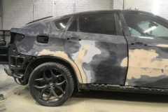 грунтовка кузова BMW X6