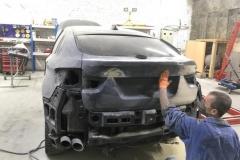 Полная покраска крышки багажника BMW X6