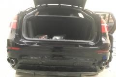 Полировка бампера BMW X6
