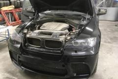 полировка капота и бампера BMW X6