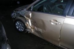камри после аварии