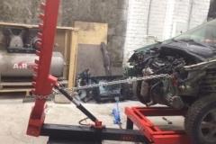 стапельные работы на хундай Hyundai Getz