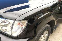 land cruiser покраска и полировка крыла