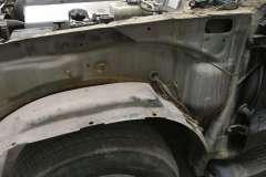land cruiser кузовной ремонт крыла