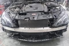 кузовной ремонт мерседеса после аварии
