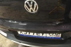 полировка после покраски крышки багажника тигуан