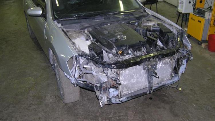 Арматурные работы Nissan Teana 2009