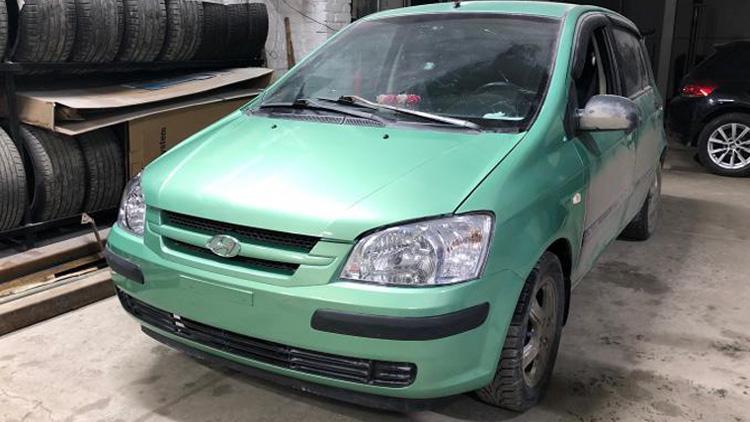 Ремонт и восстановление Hyundai Getz