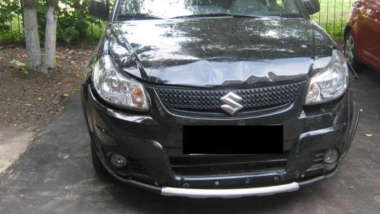 Восстановление Suzuki SX4 после ДТП