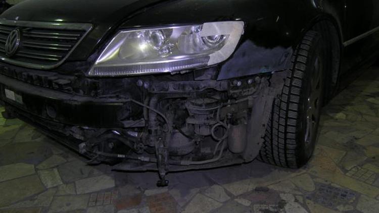 Покраска бампера и крыла VW Phaeton
