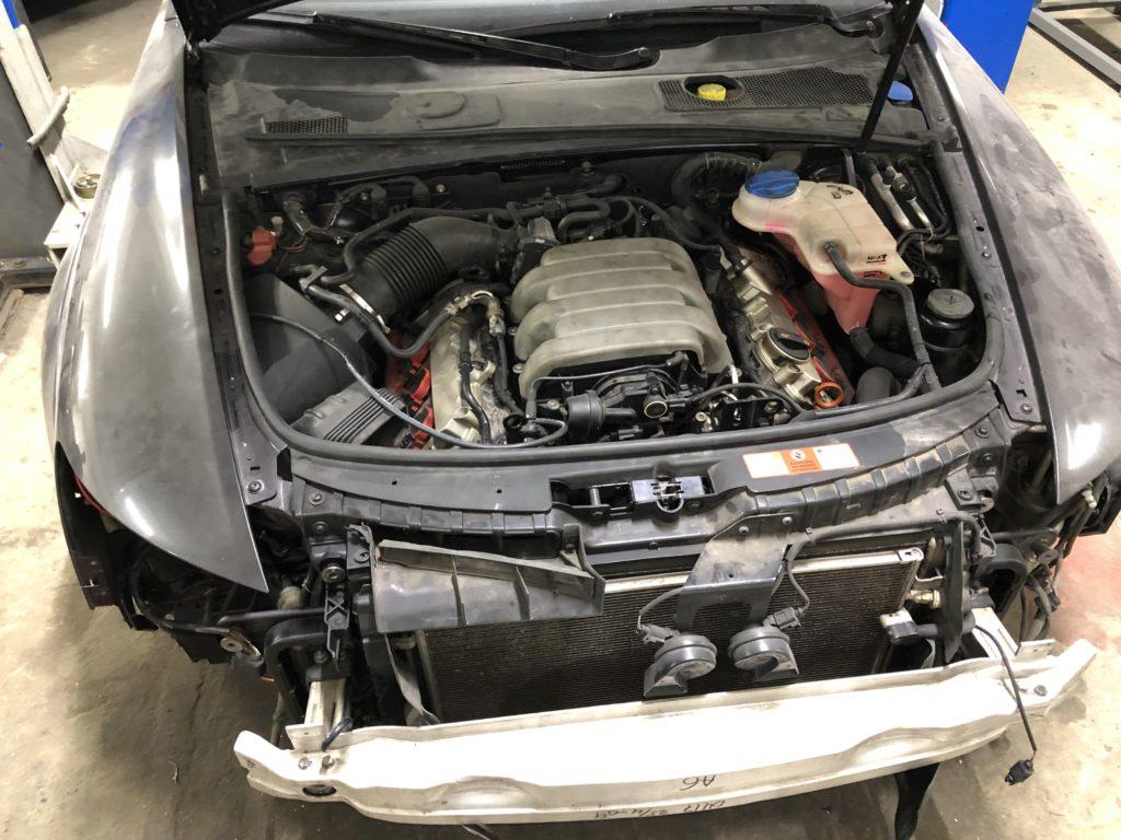 Кузовной ремонт с покраской Audi A6 Avant