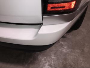 покраска заднего бампера Range Rover